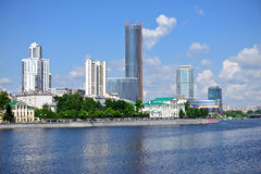 Yekaterinburg downtown Royalty Free Stock Images