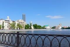 Yekaterinburg  embankment Stock Images