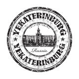 Yekaterinburg grunge rubber stamp Royalty Free Stock Photography