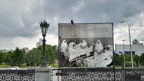 Yekaterinburg, Rosja, Czerwiec 2017 Projekt jest podróżny w Rosja Obrazek na którym jest żona Tsar Obrazy Stock