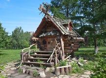 Free YEKATERINBURG, RUSSIA - JUNE 2, 2015: Photo Of The Hut Of Baba Yaga. Tagansky Park. Royalty Free Stock Photos - 55014708