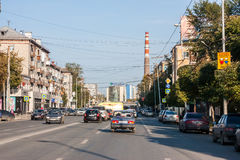 Yekaterinburg, Russia - September 24.2016: City landscape Stock Image