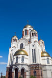 Yekaterinburg sacred  saints temple Royalty Free Stock Images