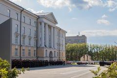 Yekaterinburg, Sverdlovsk / Russia - 08 29 2018: Yekaterinburg Suvorov Military School Ministry of Defense of the stock photos