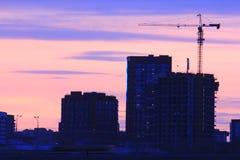 Yekaterinsburg Russland Sonnenuntergang auf dem Stadtteich lizenzfreies stockbild
