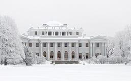 Yelagin een paleis in de winter Royalty-vrije Stock Afbeelding