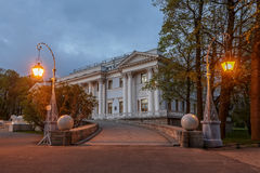Yelagin palace in Petersburg, Russia Royalty Free Stock Photography