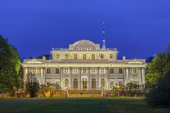 Yelagin palace in Petersburg, Russia Stock Images