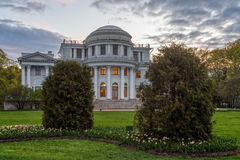 Yelagin palace in Petersburg, Russia Royalty Free Stock Image
