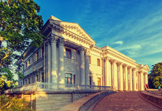 Yelagin palace in summer day Royalty Free Stock Photos