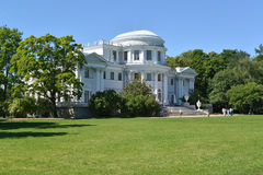 Yelagin Palace in a summer sunny day. St. Petersburg.  Stock Photography