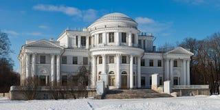 Yelagin palace in winter Stock Photo