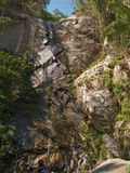 Yelapa waterfall. Vertical image of Yelapa waterfall in Yelapa, Jalisco, Mexico Royalty Free Stock Image