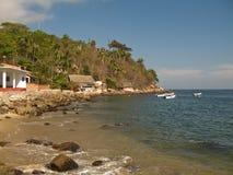 Yelapas coastline. View of Yelapa, Jalisco, Mexicos coastline Stock Photography