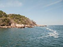 Yelapas västra kustlinje arkivfoto