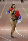 Yelena Isinbayeva Royalty Free Stock Images