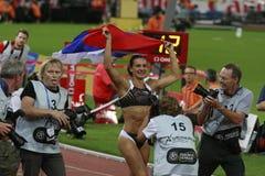 Yelena Isinbayeva Stockfoto