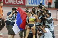 Yelena Isinbayeva Royalty Free Stock Image
