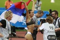 Yelena Isinbayeva Lizenzfreie Stockbilder