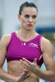 Yelena Isinbayeva Lizenzfreies Stockfoto