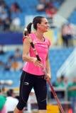 Yelena Isinbayeva Royalty Free Stock Photo