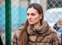 Yelena Isinbayeva Photographie stock