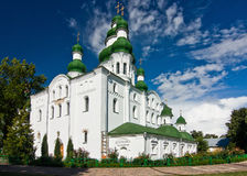 Yelets-Dormition monastery's cathedral Royalty Free Stock Images