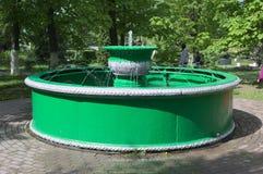 YELETS/LIPETSK, RUSSIA-MAY 08, 2017: fontanna tworzył przy końcówką XIX wiek przy ślusarstwami handlowy Rost Fotografia Stock
