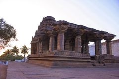Yellamma Temple fa�ade, Badami, Karnataka. Yellamma Temple fa ade, Badami, Karnataka India Stock Photography