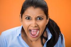 yelling Stock Foto