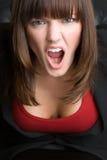 Yelling Businesswoman Stock Photos