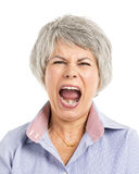 Yelling Expression Stock Photography