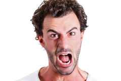 Yelling man Royalty Free Stock Photography