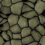 Yelllow rock seamless texture, big rocks, wall background vector illustration