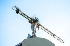 Yello crane Stock Photography