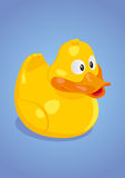 Yello_Duck_Vector Stock Image