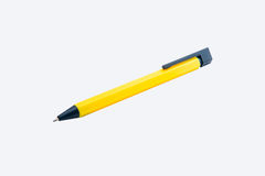 Yello pen isolated on the white background. Stock Photography