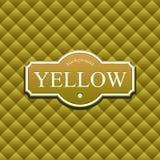 Yellov Hintergrund stock abbildung