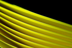 Yellow  A4 Paper Background II Royalty Free Stock Image