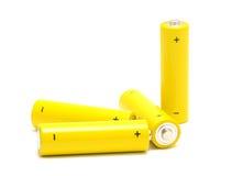 AA batteries Royalty Free Stock Photo
