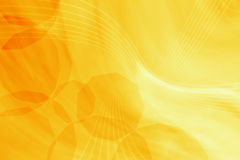 Yellow abstract Stock Image
