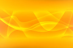 Yellow Abstract Background. Yellow Wave Abstract Background Design Stock Photos