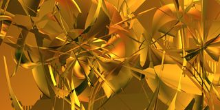 Yellow abstract background stock photos