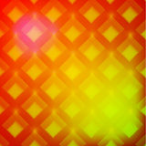 Yellow abstract background with diamonds Royalty Free Stock Images