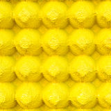 Yellow abstract background from egg tray Royalty Free Stock Image