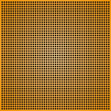 Yellow abstract background. Abstract background a yellow grid with round openings Royalty Free Stock Images