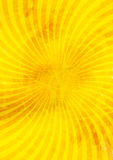 Yellow abstract background with lines Royalty Free Stock Photo