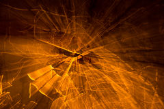 Yellow abstract background. Orange and yellow abstract background Stock Images