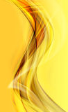 Yellow abstract background Royalty Free Stock Photo
