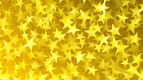 Yellow abstract background of small stars. Abstract background of small stars in yellow colors Stock Illustration